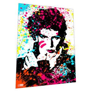 "1980s glam legend ""Adam Ant"" Wall Art – Graphic Art Poster"