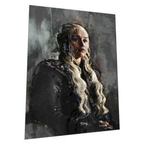 "Game Of Thrones ""Daenerys Targaryen"" Wall Art – Graphic Art Poster"